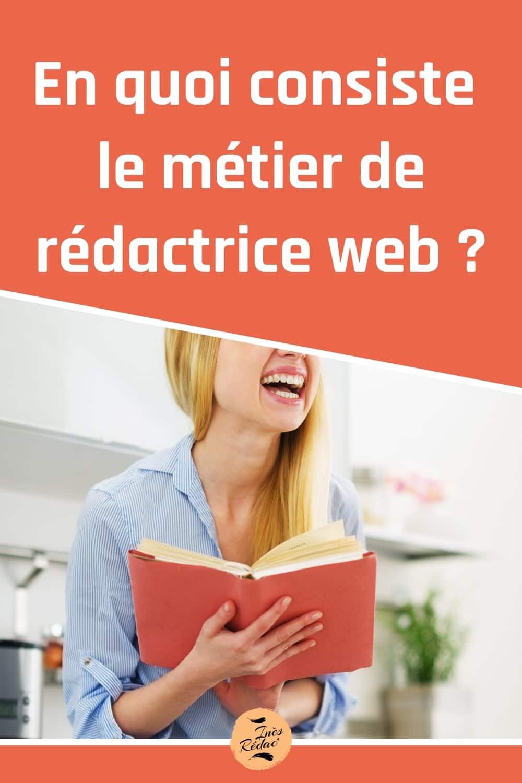 En quoi consiste le métier de rédactrice web ?