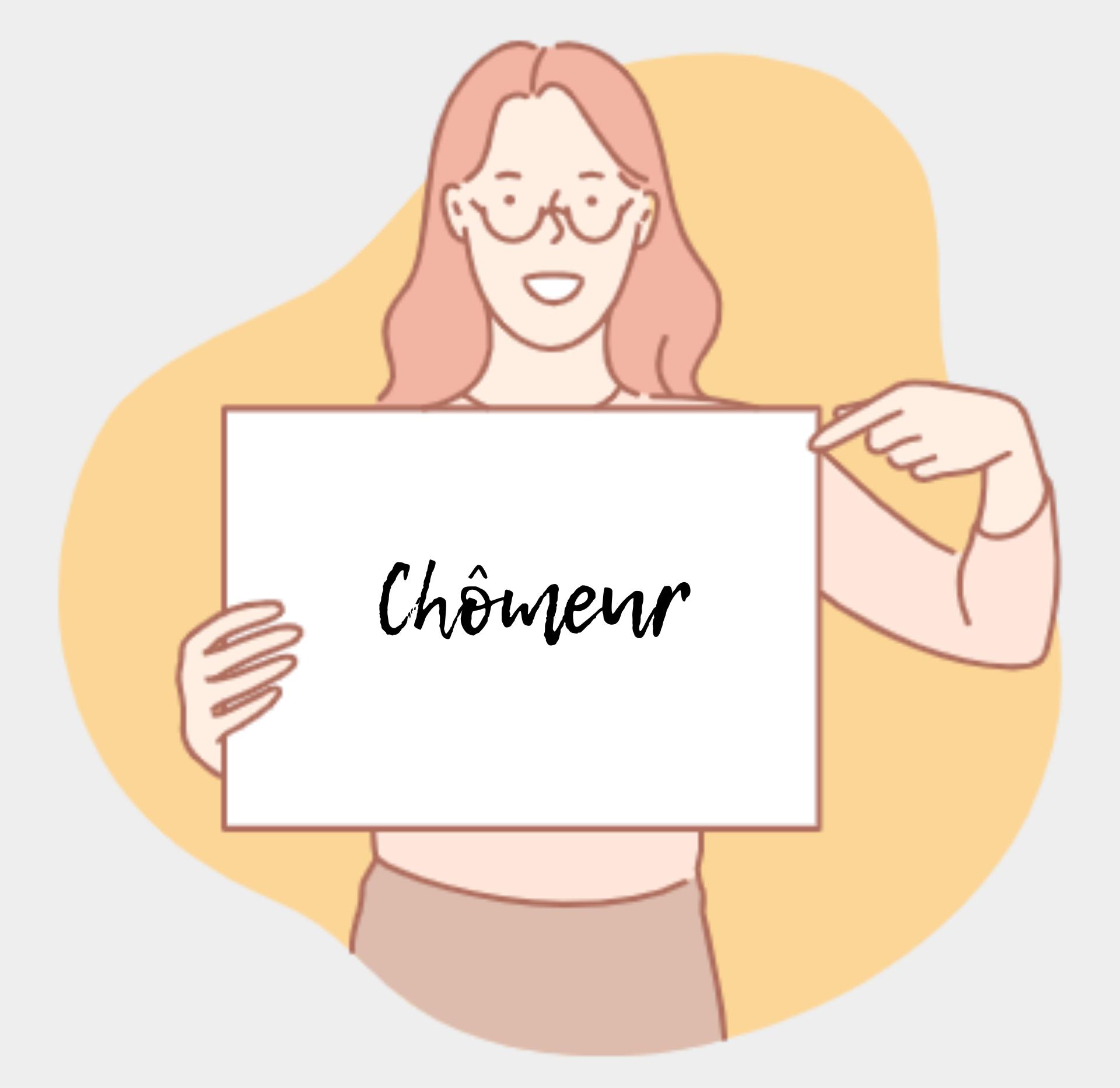 Un chômeur qui souhaite saisir sa chance en rédaction web