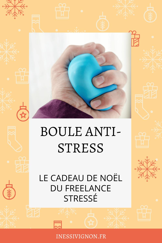 Cadeaux de Noël du freelance boule anti-stress