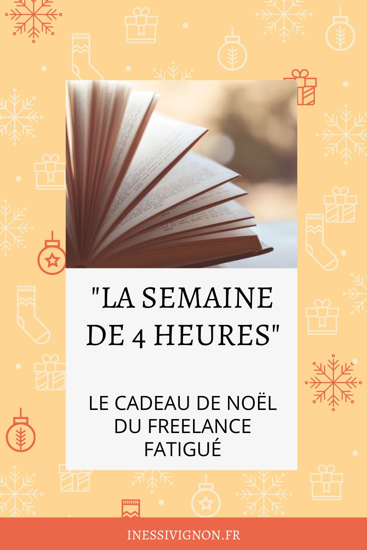 Cadeaux de Noël du freelance livre de développement personnel