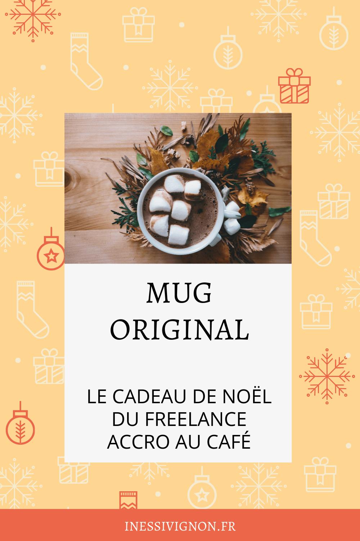 Cadeaux de Noël du freelance mug