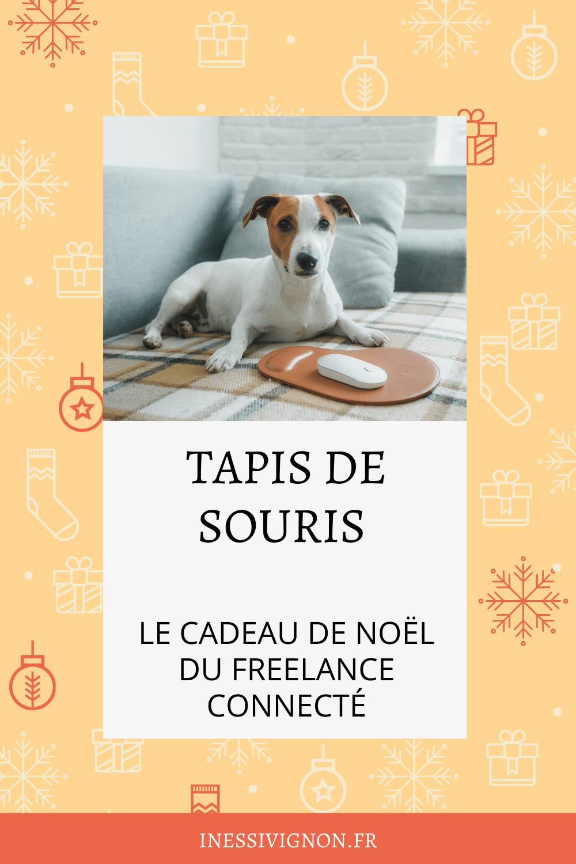 Cadeaux de Noël du freelance tapis de souris