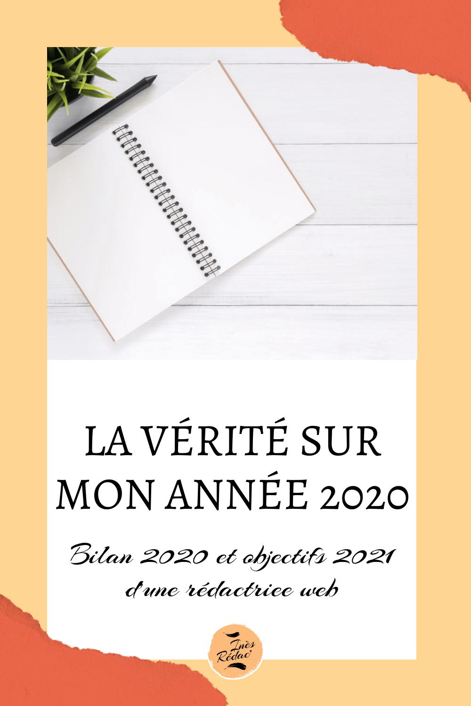 Objectifs 2021 en rédaction web